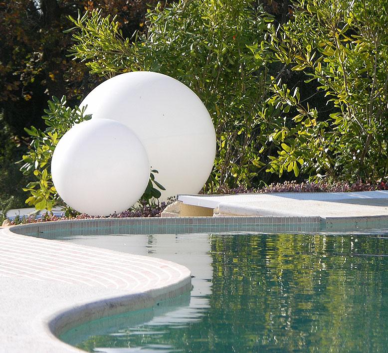 slide kugelleuchte globo 30 au en leuchte gartenlampe art. Black Bedroom Furniture Sets. Home Design Ideas
