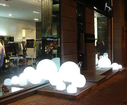 slide kugelleuchte globo 40 au en leuchte gartenlampe art jardin. Black Bedroom Furniture Sets. Home Design Ideas