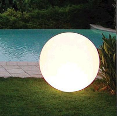 Komplett Neu Slide Kugelleuchte Globo 40 Außenleuchte Gartenlampe - Art Jardin EW89