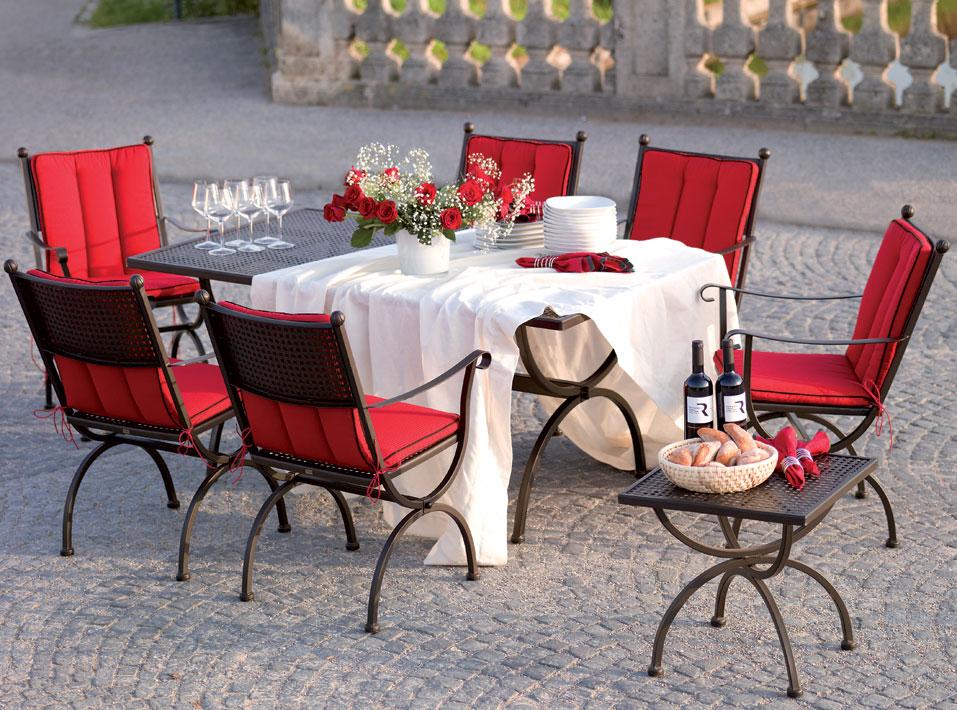 mbm tisch romeo 160x90cm 156135 gartenm bel esstisch art jardin. Black Bedroom Furniture Sets. Home Design Ideas