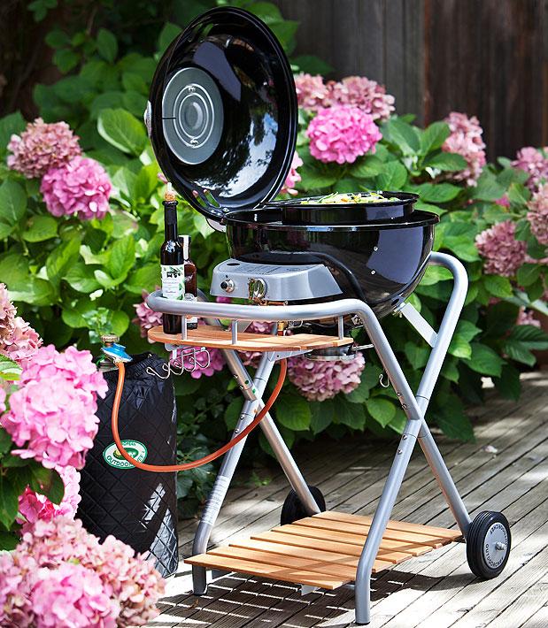 outdoorchef gas grill ambri 480 g schwarz kugelgrill art jardin. Black Bedroom Furniture Sets. Home Design Ideas