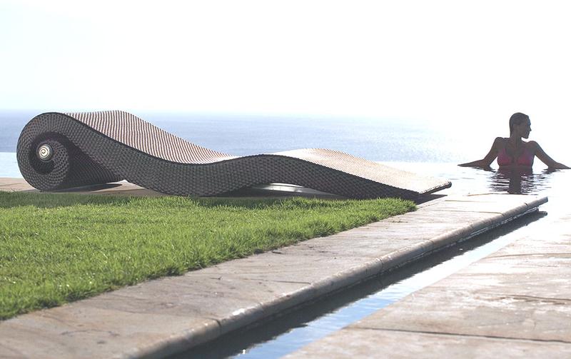 mbm garten liege conca mocca polyrattan art jardin. Black Bedroom Furniture Sets. Home Design Ideas