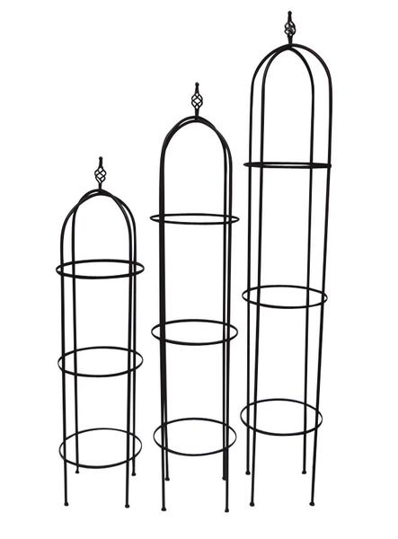 rosen obelisk 3erset rosalie gartendeko pflanzst tze art. Black Bedroom Furniture Sets. Home Design Ideas