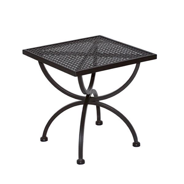 Gartentisch rund metall mbm  MBM Beistelltisch Romeo 50cm 156143 Gartentisch Eisen- Art Jardin