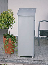 heibi stand briefkasten gran securo 03 64379 040 silb art jardin. Black Bedroom Furniture Sets. Home Design Ideas