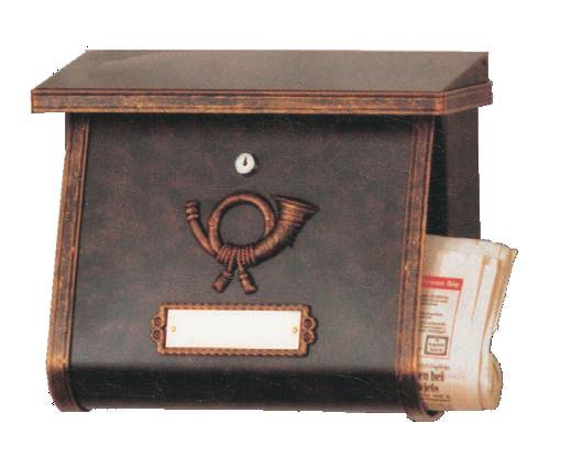 heibi briefkasten multi 64104 002 braun postkasten vz art jardin. Black Bedroom Furniture Sets. Home Design Ideas