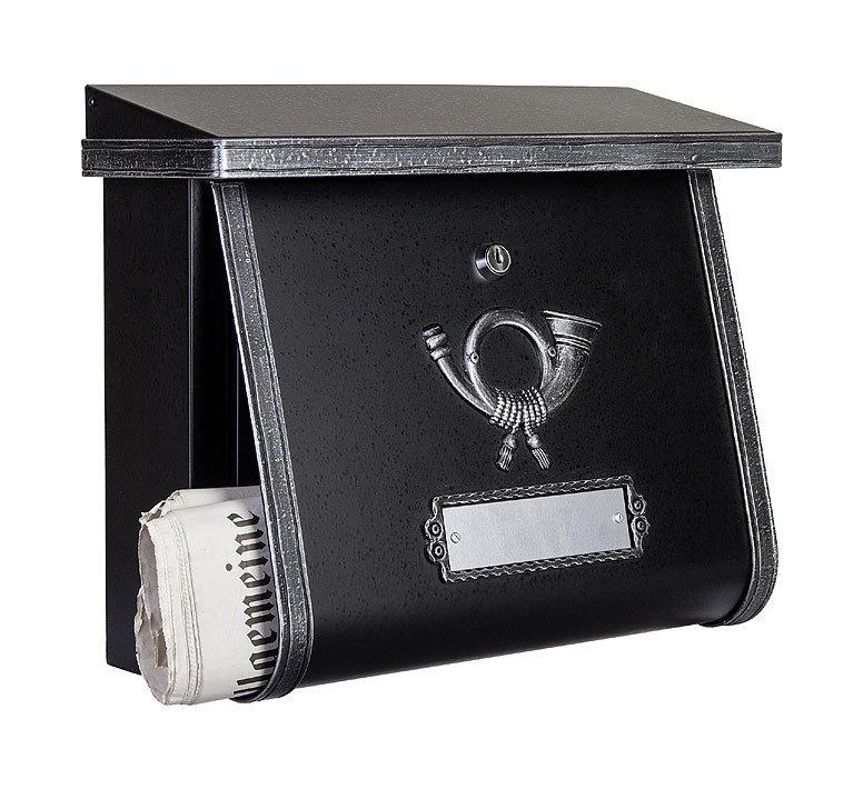 heibi briefkasten multi 64104 026 schwarz postkasten art jardin. Black Bedroom Furniture Sets. Home Design Ideas