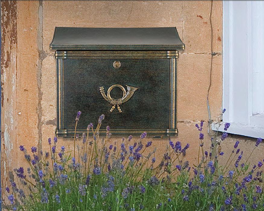 heibi briefkasten merito 64393 002 braun postkasten art jardin. Black Bedroom Furniture Sets. Home Design Ideas