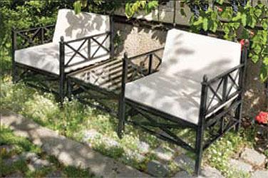 mbm loungesessel medici schmiedeeisen art jardin. Black Bedroom Furniture Sets. Home Design Ideas