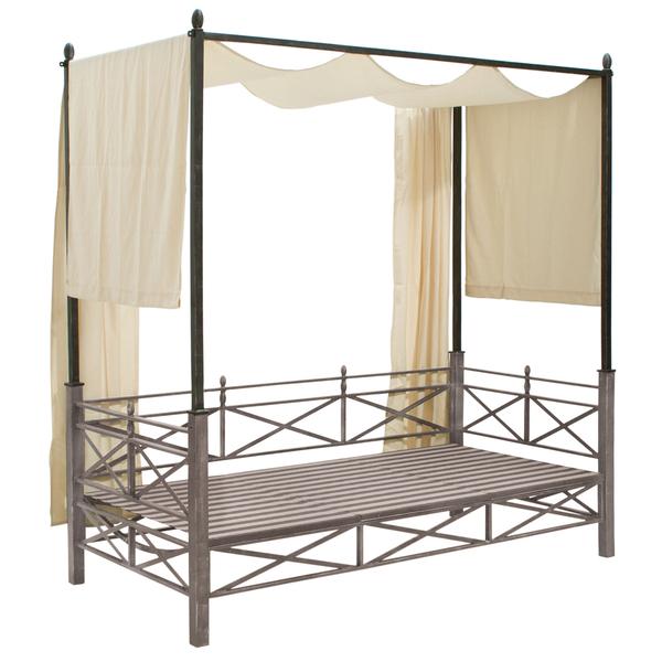 loungebett garten holz loungebett garten sommer sonnenschutz liegen ebay eine schicke garten. Black Bedroom Furniture Sets. Home Design Ideas