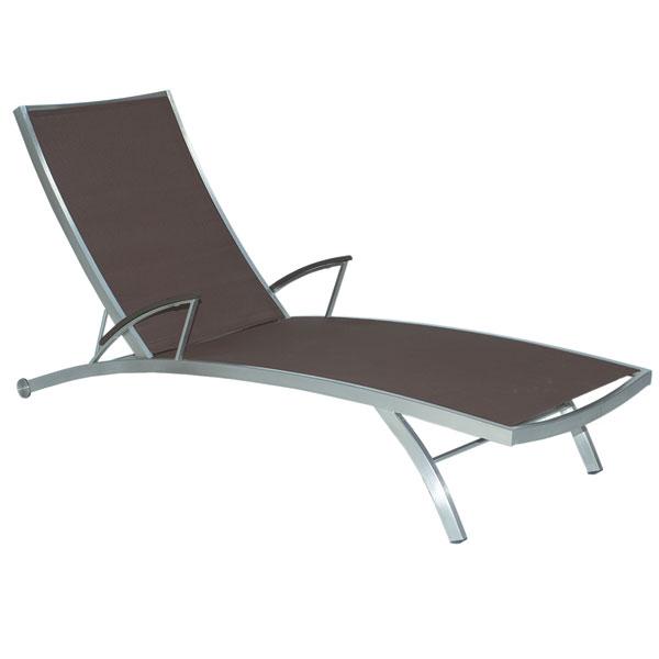mbm liege puro chocolate edelstahl jetzt noch g nstiger und frei haus gartenm bel sonnenliege. Black Bedroom Furniture Sets. Home Design Ideas