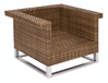 MBM Lounge Sessel Madrigal 68.00.0304 Polyrattan toba