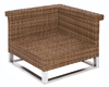 MBM Eckmodul Madrigal 68.00.0305 Sessel Polyrattan to