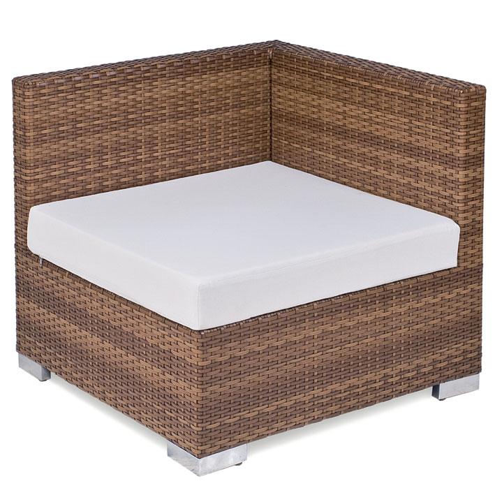 MBM Lounge PICCOLINO Universal Sitzkissen uni natur, Sitzpolster für