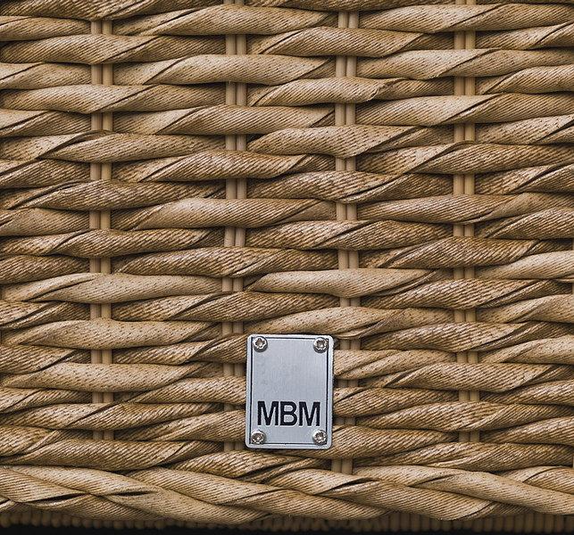 Gartenmobel Leiner Wien : MBM Lounge Mittel Modul Bellini Polyrattan Mirotex Twist natur 168759