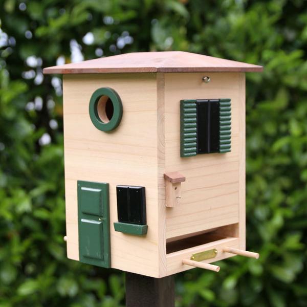 vogelhaus futterhaus nistkasten toscana haus wg 116 art. Black Bedroom Furniture Sets. Home Design Ideas