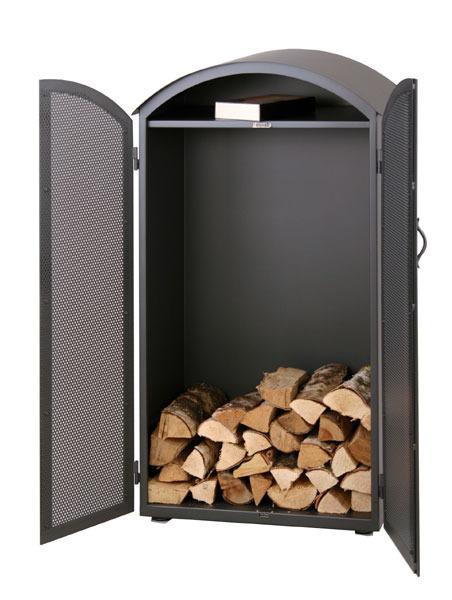 heibi kaminholz schrank 52313 036 steingrau holzlager art jardin. Black Bedroom Furniture Sets. Home Design Ideas