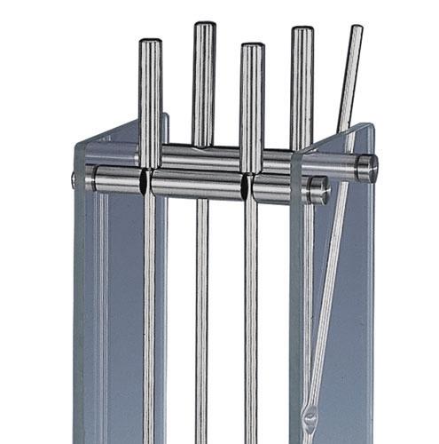 heibi kaminbesteck 52299 072 edelstahl glas 5 teilig art. Black Bedroom Furniture Sets. Home Design Ideas