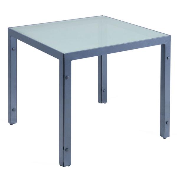 Dehner Gartenmobel Koln : MBM Tisch Manhattan Classic II 90x90cm Alu Glas 60000509 Esstisch