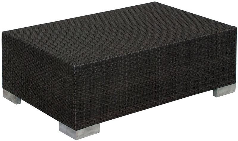mbm lounge tisch bellini 60x90 mocca koala polyrattan art. Black Bedroom Furniture Sets. Home Design Ideas