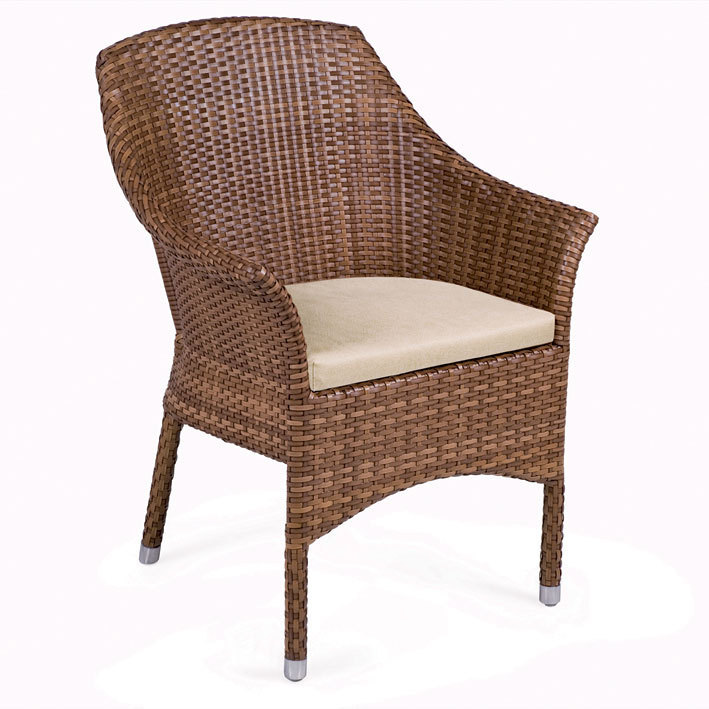 mbm sessel sitzkissen outdoor ecru polster auflage kissen f r balou art jardin. Black Bedroom Furniture Sets. Home Design Ideas