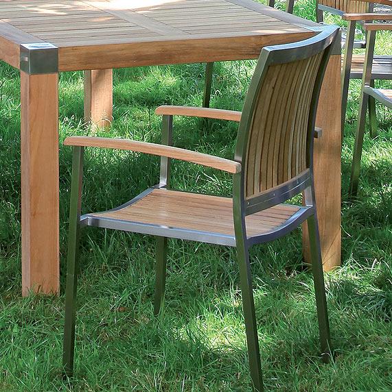 sonnenpartner tisch 220x100 carlton 80016051 teak art jardin. Black Bedroom Furniture Sets. Home Design Ideas