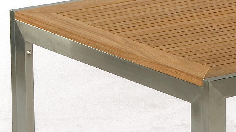 sonnenpartner tisch 180 lord 80071252 edelstahl teak art jardin. Black Bedroom Furniture Sets. Home Design Ideas