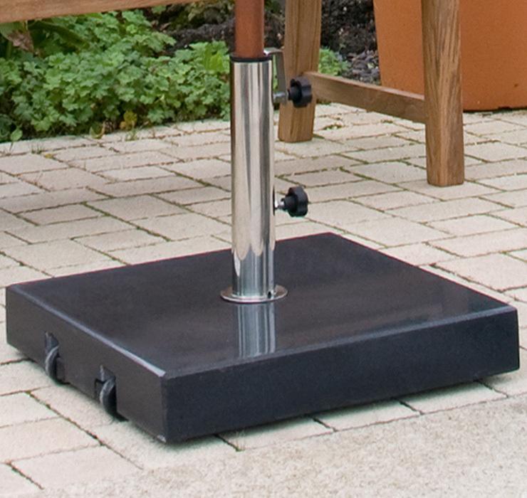 zebra schirmfu premius granit 54kg 4913 schirmst nder artjardin. Black Bedroom Furniture Sets. Home Design Ideas