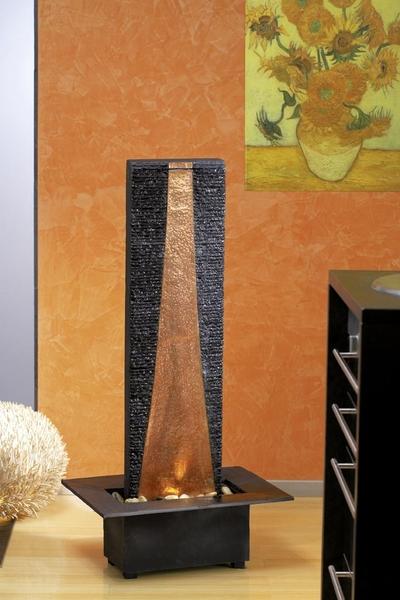 seliger zimmerbrunnen sias 20037 schiefer wasserspiel art. Black Bedroom Furniture Sets. Home Design Ideas