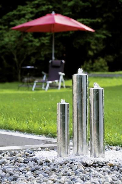seliger edelstahl design gartenbrunnen trius 24001 neu- artjardin, Best garten ideen