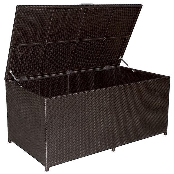 mbm kissentruhe bellini gro polyrattan 3fb art jardin. Black Bedroom Furniture Sets. Home Design Ideas