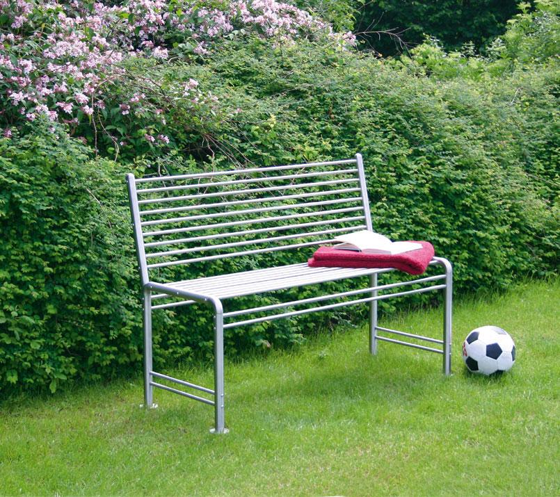 gartenmobel bank edelstahl interessante. Black Bedroom Furniture Sets. Home Design Ideas
