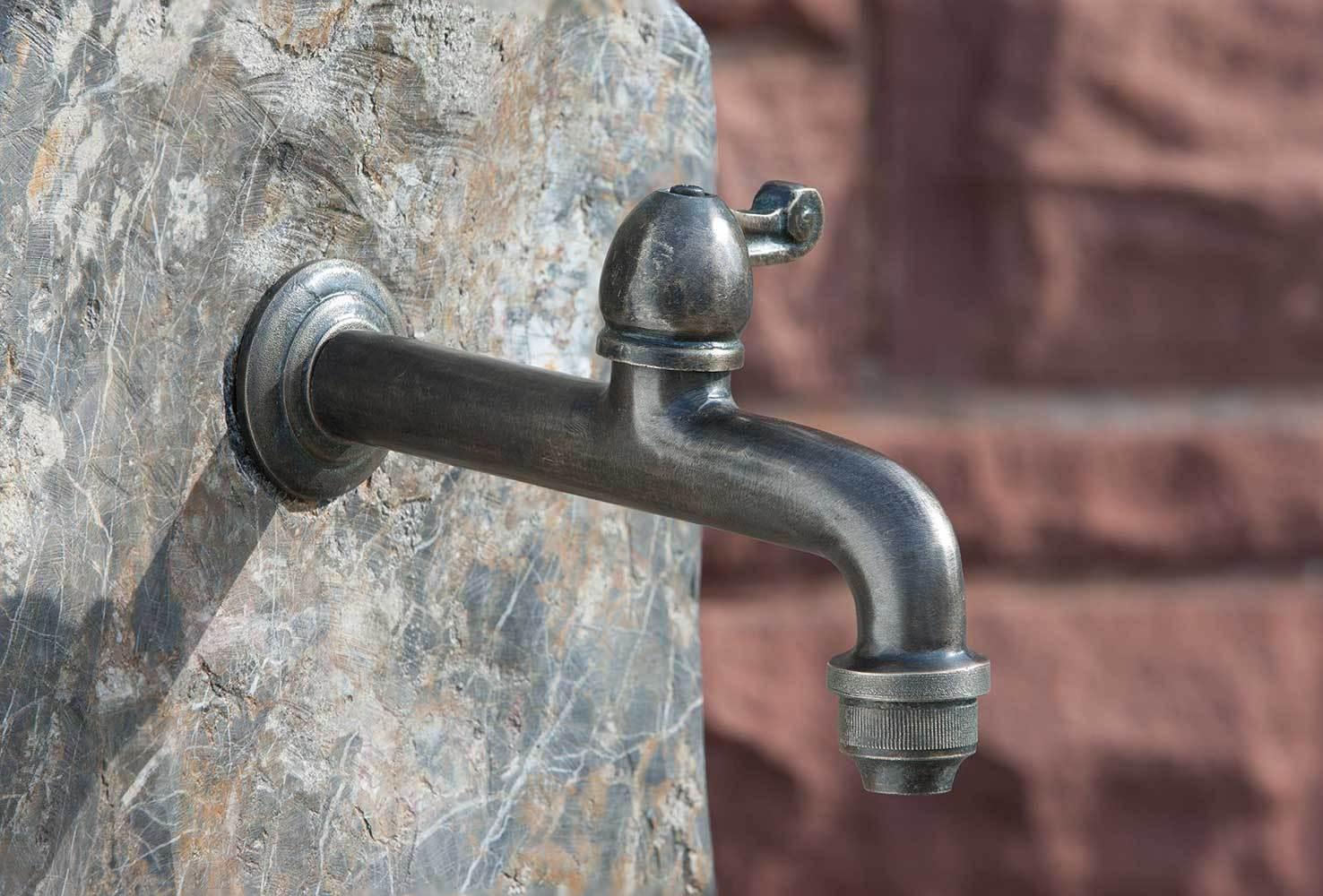 Wasserzapfstellen Messing Edelstahl Bronce Kunststoff- Art Jardin