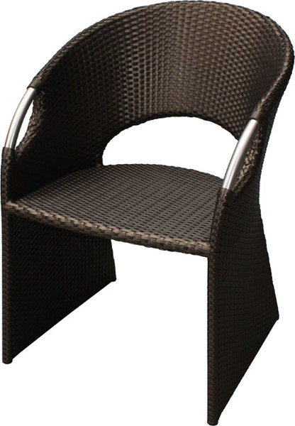 zebra sessel wave 6308 indian polyrattan gartenm bel art. Black Bedroom Furniture Sets. Home Design Ideas