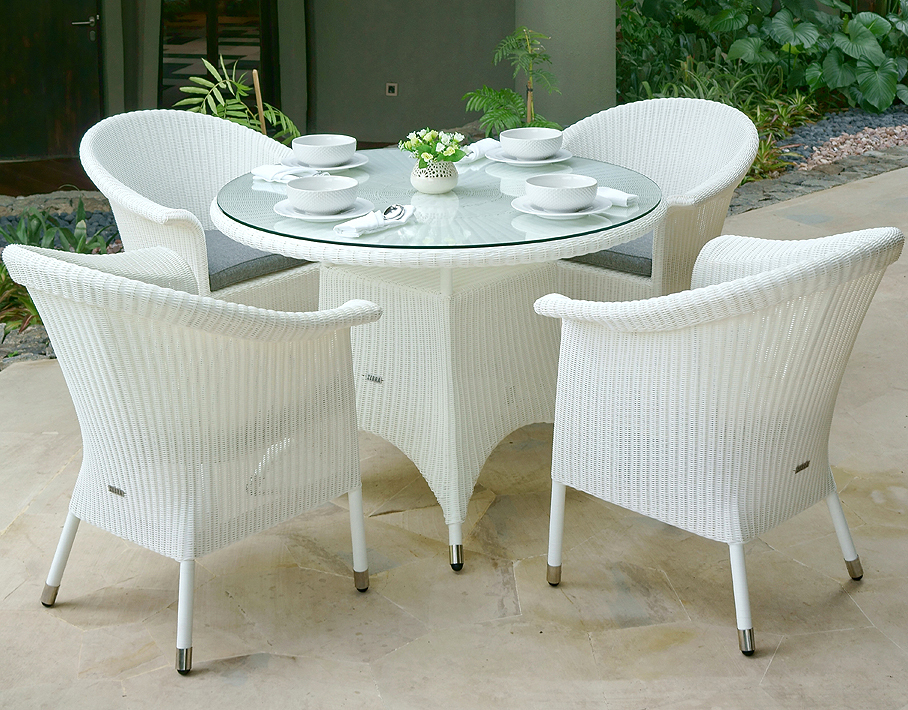 zebra sessel hastings 4195 wei polyrattan korb m bel art. Black Bedroom Furniture Sets. Home Design Ideas