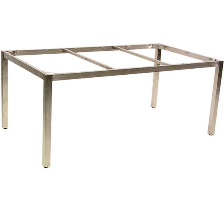Zebra Ess Tisch Gestell 180x100cm Opus 6560 Edelstahl Art Jardin