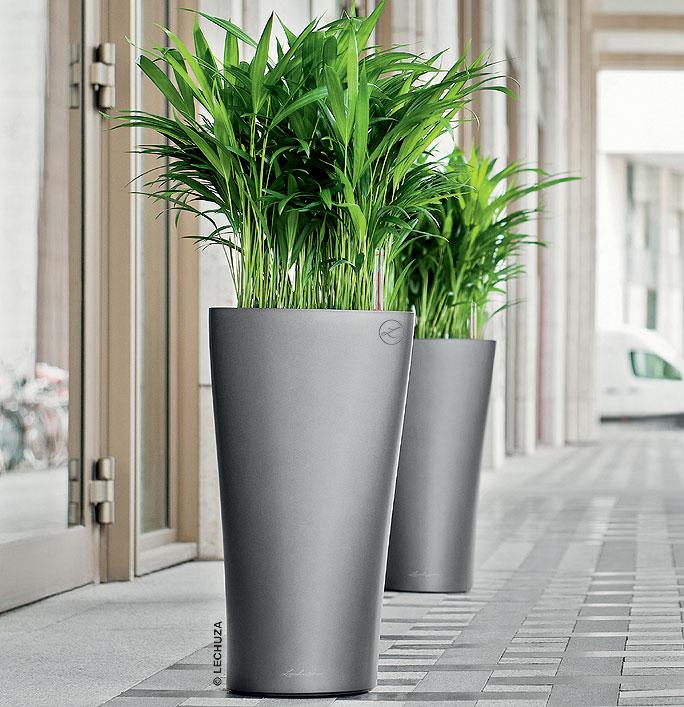 lechuza pflanzgef delta 30 komplettset blumenk bel art jardin. Black Bedroom Furniture Sets. Home Design Ideas