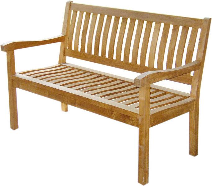 zebra 3er bank 160 president 24003 teakholz sitzbank art jardin. Black Bedroom Furniture Sets. Home Design Ideas