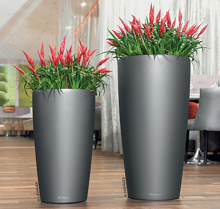 lechuza pflanzgef rondo 32 komplettset blumenk bel art jardin. Black Bedroom Furniture Sets. Home Design Ideas