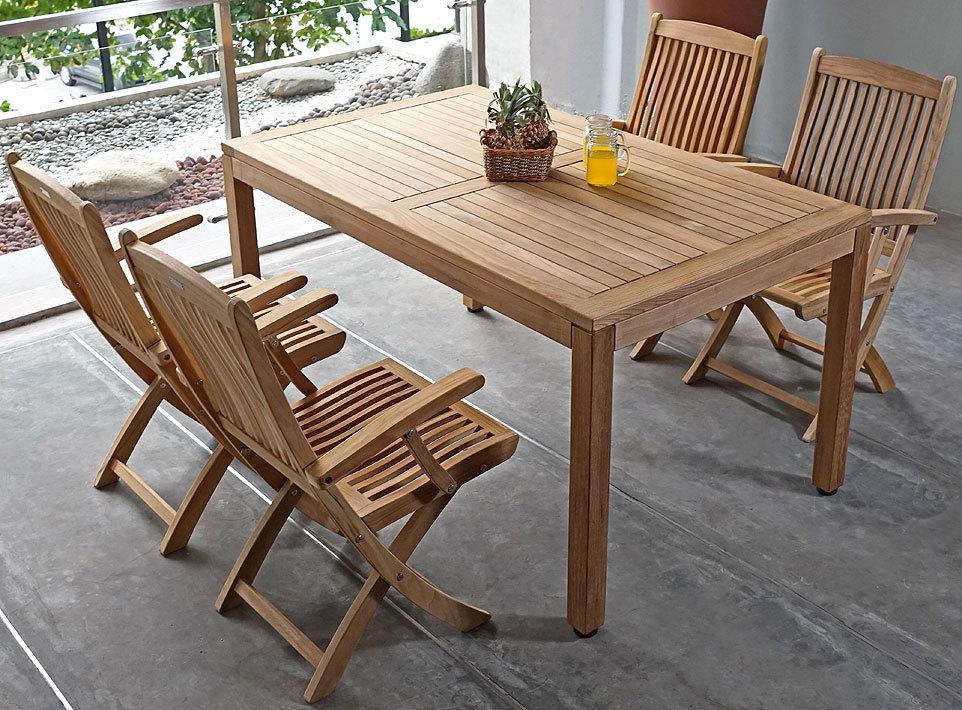 zebra klappsessel bali 44020 teakholz gartenm bel teak. Black Bedroom Furniture Sets. Home Design Ideas