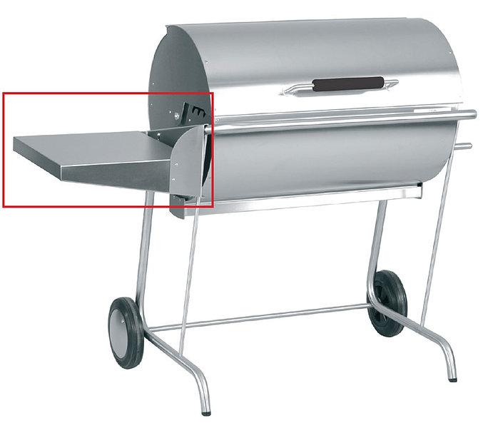 grill mit ablage kleinster mobiler gasgrill. Black Bedroom Furniture Sets. Home Design Ideas