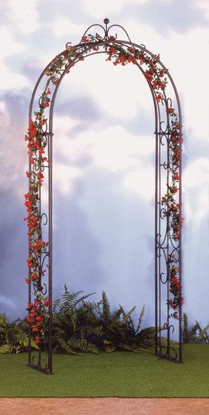 heibi rosenbogen 55165 025 schwarz pflanzbogen verzkt art jardin. Black Bedroom Furniture Sets. Home Design Ideas