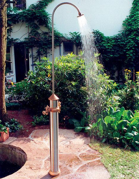 Dusche Im Garten.Gart Art Wasserzapfsäule Garten Dusche Set3 Dg33000 Edelstahl Messing Wasserstelle