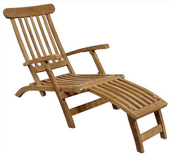teakholz deckchair auflage tarim 910100 liegestuhl art jardin. Black Bedroom Furniture Sets. Home Design Ideas