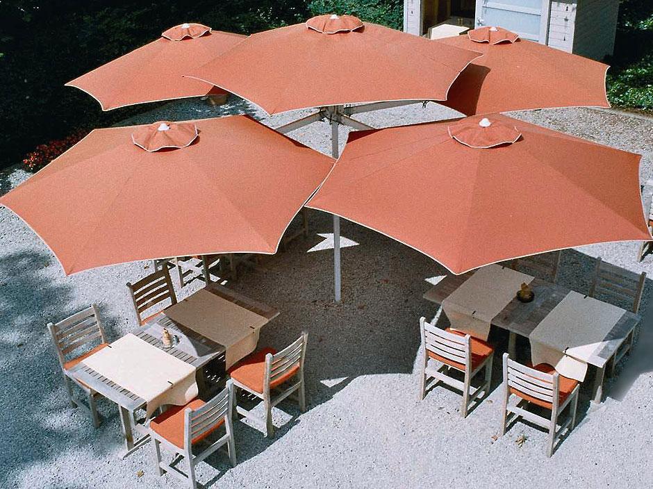 Umbrosa paraflex rohrspitze poletop multi rohr schirm art for Art jardin ochsenfurt