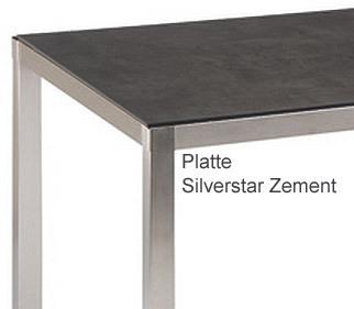 stern edelstahl tisch system silverstar i66 varianten art. Black Bedroom Furniture Sets. Home Design Ideas