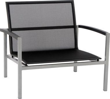 stern lounge sessel lazy 419166 alu textilene schwarz art. Black Bedroom Furniture Sets. Home Design Ideas
