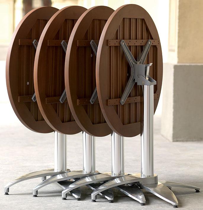 mbm bistro tisch platte resysta rund 75cm burma siam art jardin. Black Bedroom Furniture Sets. Home Design Ideas
