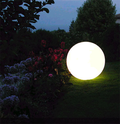 slide kugel leuchte globo 60 au enleuchte gartenlampe art jardin. Black Bedroom Furniture Sets. Home Design Ideas