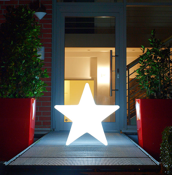 design stern lampe shining star 60 wei aussenleuchte art jardin. Black Bedroom Furniture Sets. Home Design Ideas